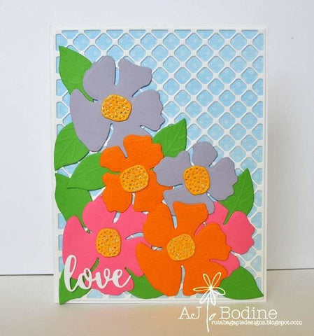 PRETTY FLOWERS DIE SET - Gina Marie Designs