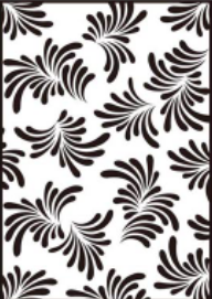 LEAFY BKGD EMBOSSING FOLDER - Gina Marie Designs