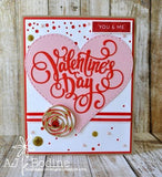 Valentine's Day WORD DIE - Gina Marie Designs