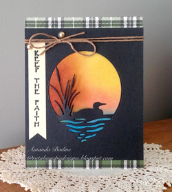 LAKE LOON DIE - Gina Marie Designs