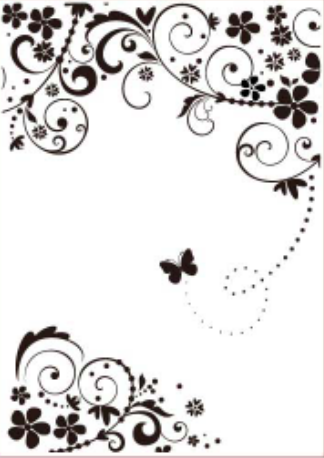 FLOURISHED BUTTERFLY FOLDER - GINA MARIE DESIGNS