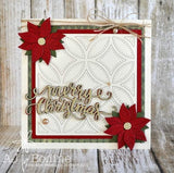 CURSIVE MERRY CHRISTMAS WORD DIE - Gina Marie Designs
