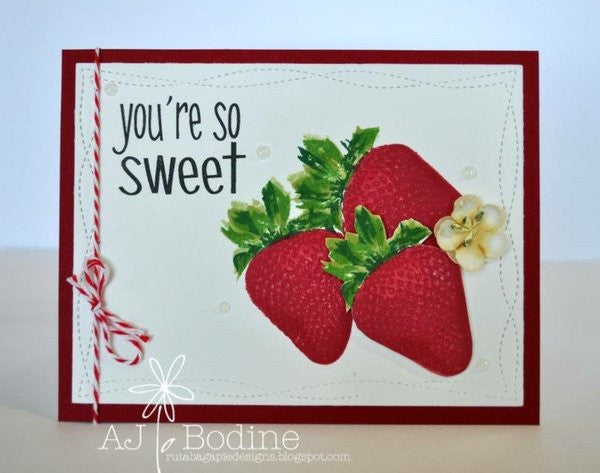 WONKY STITCHED RECTANGLE DIE SET - Gina Marie Designs