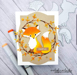 LAYERED FOX DIE SET - Gina Marie Designs