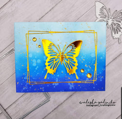 SWALLOW TAIL BUTTERFLY DIE - GINA MARIE DESIGNS