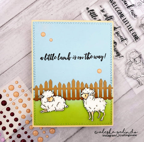 LITTLE LAMB STAMP SET - GINA MARIE DESIGNS
