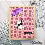 FLYING BY MICE STAMP SET - GINA MARIE DESIGNS
