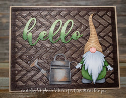 GNOME DIE SET - GINA MARIE DESIGNS