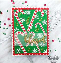 CANDY CANE DIE SET - GINA MARIE DESIGNS