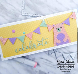 BANNERS AND BOWS DIE SET - GINA MARIE DESIGNS