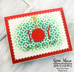 JOY WORD WITH ORNAMENT O DIE SET - GINA MARIE DESIGNS