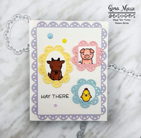 THICK STITCH CIRCLE DIE SET - GINA MARIE DESIGNS