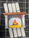 FIREPLACE DIE SET - GINA MARIE DESIGNS