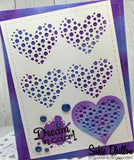 CUT IN CUT OUT HEART DIE SET - Gina Marie Designs