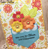 LAYERING FLOWER DIE SET - Gina Marie Designs