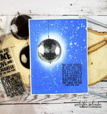 LAYERED NEW YEARS / DISCO BALL STAMP SET - Gina Marie Designs