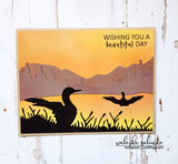 DUCK LAKE SCENE DIE SET - Gina Marie Designs