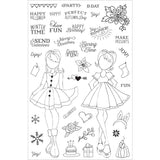 HOLIDAY BLISS - JULIE NUTTING PRIMA GIRL STAMPS