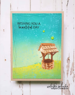 LAYERED WISHING WELL STAMP SET - Gina Marie Designs