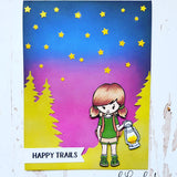 CAMPING KIDS STAMP SET - Gina Marie Designs