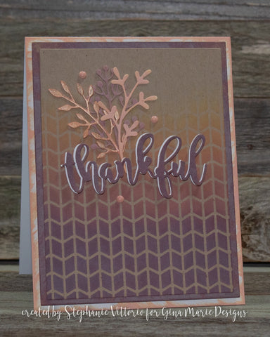 FALL STYLE BRANCHES DIE SET - Gina Marie Designs