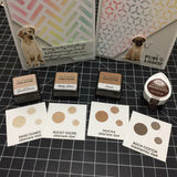 LAB DOG LAYERED STAMP AND SENTIMENT SET - Gina Marie Designs