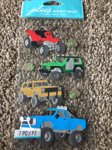 OFF ROADING  - Jolee's Boutique Stickers