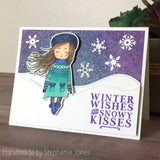 WINTER GIRL STAMP SET - Gina Marie Designs