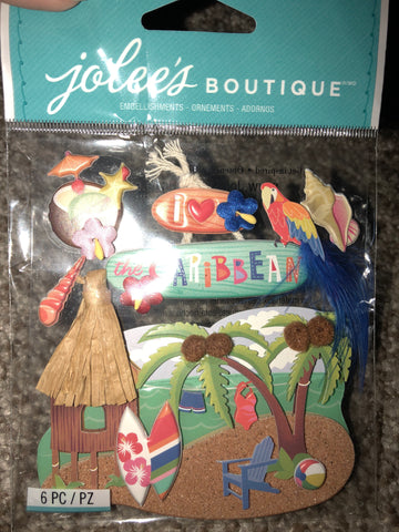 CARIBBEAN - Jolee's Boutique Stickers