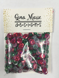 CHRISTMAS SEQUIN MIX - Gina Marie Designs