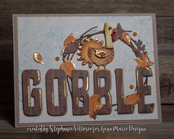 LAYERED TURKEY DIE SET - Gina Marie Designs