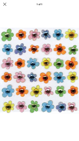 BABY GEMS FLOWERS - Jolee's Boutique Stickers