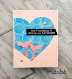 CIRCLE GRID PATTERN - 6x6 STENCIL - Gina Marie Designs