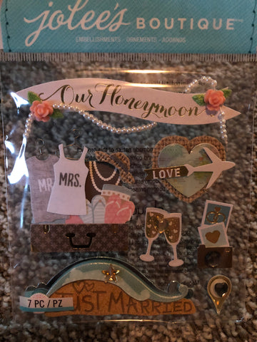 NEW STYLE HONEYMOON - Jolee's Boutique Stickers