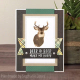 DEER LAYERED STAMP SET - Gina Marie Designs