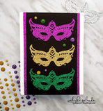 FANCY MASK MARDI GRAS DIE - Gina Marie Designs