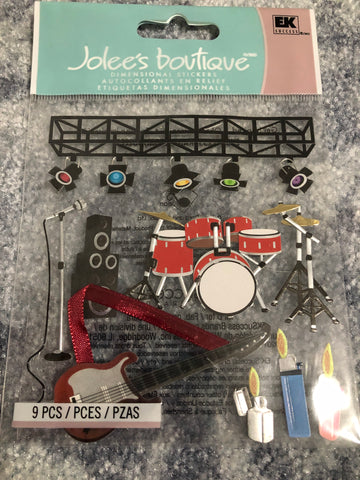 CONCERTS - Jolee's Boutique Stickers