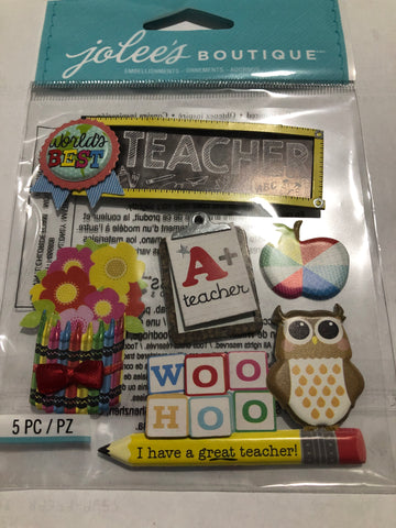 TEACHER - Jolee's Boutique Stickers