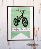 BICYCLE DIE - Gina Marie Designs