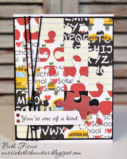 PUZZLE BKGD DIE - Gina Marie Designs