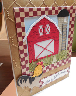 BARN AND SILO DIE SET - Gina Marie Designs