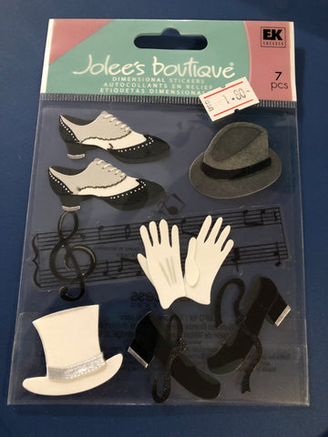 JAZZ AND TAP SHOES - Jolee's Boutique Stickers