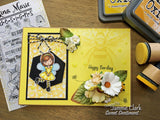 LITTLE BEE GIRL STAMP SET - Gina Marie Designs
