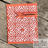 FLOWER TILES BKGD DIE - Gina Marie Designs