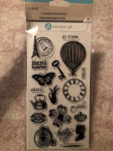 Merci beaucoup - HAMPTON ARTS CLEAR STAMPS