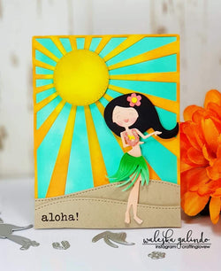 HULA GIRL DIE SET - Gina Marie Designs