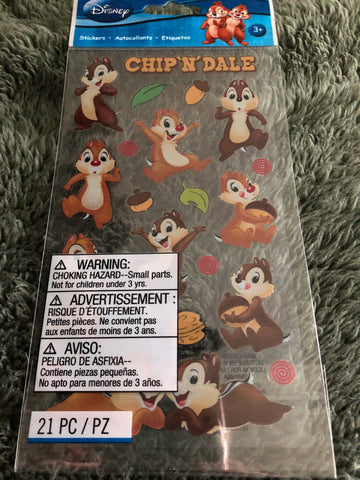 CHIP N DALE STICKO STICKERS