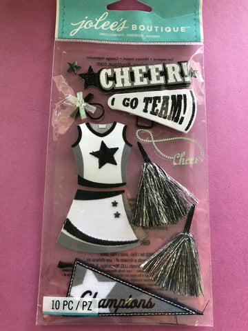 CHEERLEADING - Jolees boutique stickers