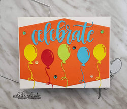 CELEBRATION BALLOON DIE - Gina Marie Designs