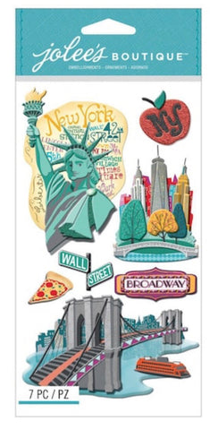 NEW STYLE NEW YORK - Jolee's Boutique Stickers